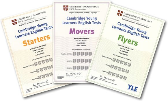 Cambridge Young Learner Exams